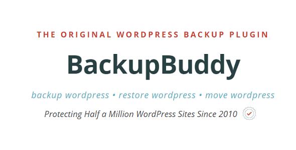 BackupBuddy – Back Up, Restore & Move Plugin para WordPress