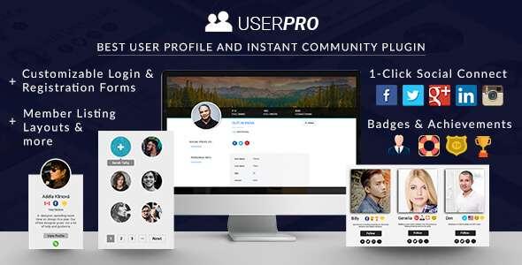 UserPro User Profiles With Social Login
