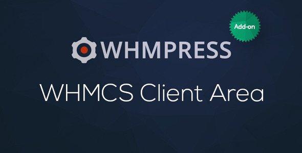 WHMCS Client Área para WordPress por WHMpress