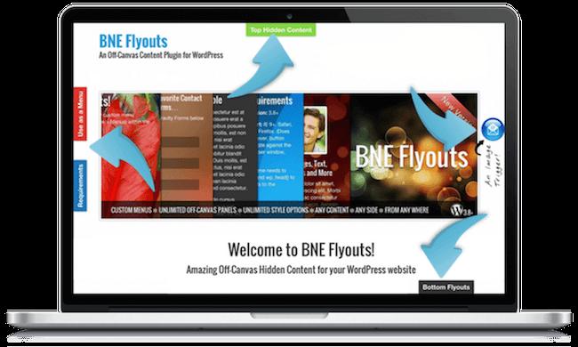 Flyouts – Off Canvas Conteúdo Personalizado Para WP